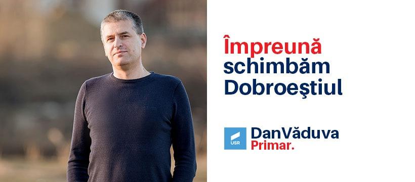Dan Vaduva este omul care doreste ca Dobroestiul sa devina o comuna europeana
